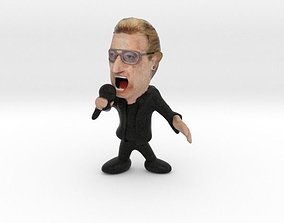 Bono of U2 3D printable model