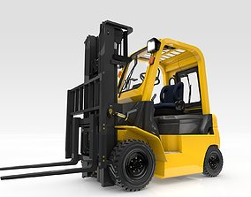 3D Forklift Animated Smart
