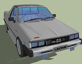 Subaru Brumby Sport 1985 3D asset