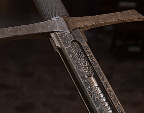 Sword-ARADOR 3D model game-ready