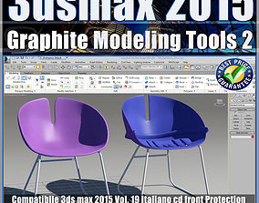 3ds max 2015 Graphite Modeling Tools 2 vol 19 cd