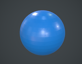 Swiss Yoga Ball PBR 3D