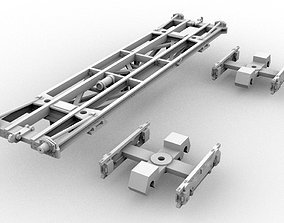 3D print model PBR 129Q V2 HO 1-87 Scale