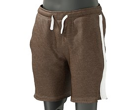 3D model Mens Sports Shorts 1