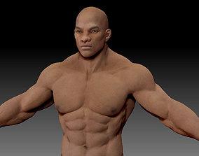 Male body 05 3D model