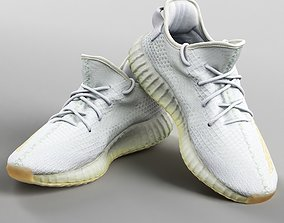 3D model 001221 Adidas yeezy boost 350 white
