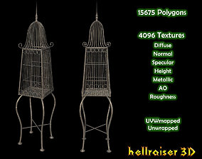 Bird Cage - Textured 3D model