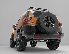 hmmwv 3D Toyota FJ Cruiser - Detailed Design
