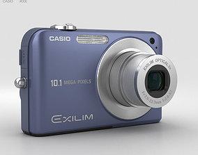 Casio Exilim EX- Z1050 Blue 3D model