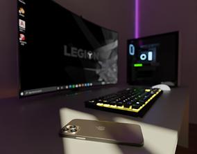 3D Gaming Room keyboard