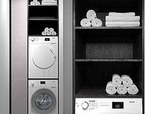 Miele washing machines 3D model