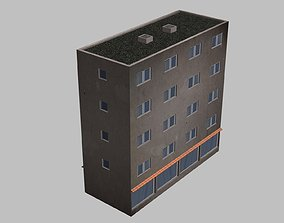 3D asset Urban building