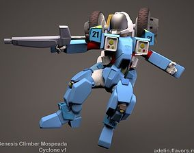 Mospeda - Veritech Cyclone 3D model