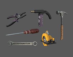 3D model 5 Tools asset