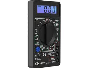 3D DT830D LCD Digital Multimeter Electric Voltmeter
