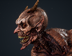 3D asset Demon 8