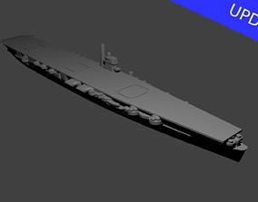 3D print model Japanese Aircraft Carrier Hiryu