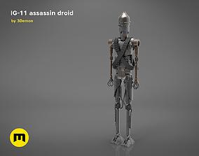3D print model Assassin droid IG-11 Mandalorian