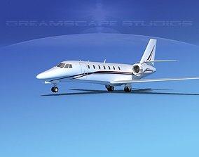 3D model Cessna 680 Citation Sovereign V09