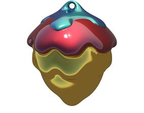 3D printable model Christmas Ball 3