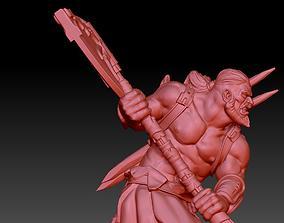 3D printable model Barbarian Warrior