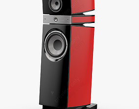 Focal JMLab Scala Utopia Imperial Red 3D model