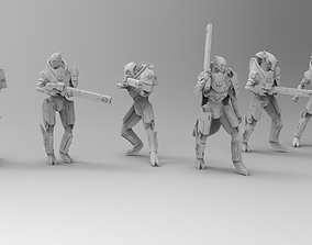 3D print model Taurian Firewarriors