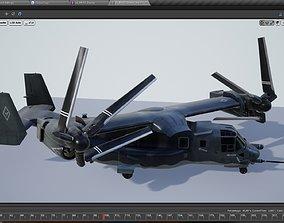 3D model Bell Boeing V22 Osprey Multi-Role Aircraft