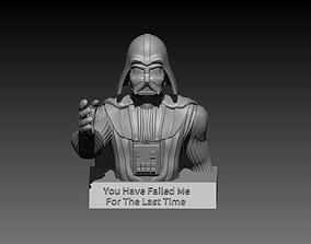 3D printable model Darth Vader sculpture