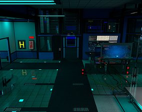 3D Sci-fi Laboratory SLPE 345