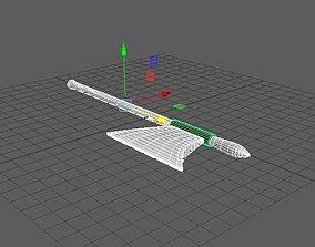 VR / AR ready axe 3d model