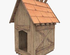 Doghouse 3D asset