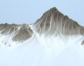Mountain 2 3D model game-ready