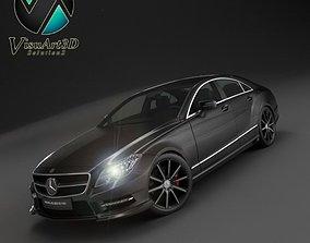 3D model Mercedes Benz CLS Brabus 2012