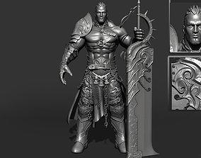 Epic warrior fantasy 3D