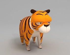 3D Tiger zoo