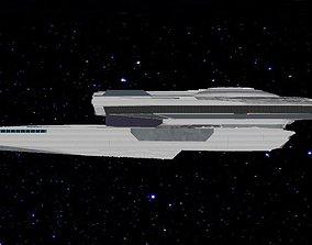 USS Clark Malachowski Class Refit 3D printable model