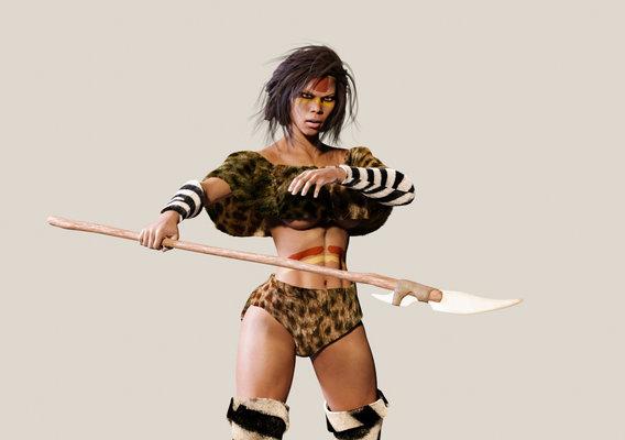 Stone Age Female Primitive