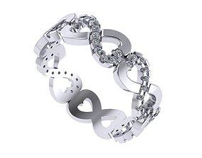 Infinity Pandora Love Ring 3D print model