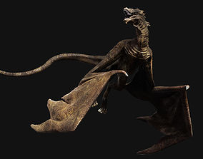 3D model Big Fantasy Wyvern Dragon