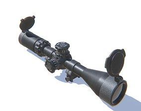 Sniper Scope 3D model realtime PBR