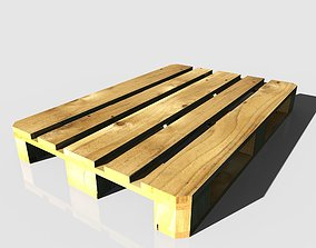 cargo 3D model Wooden pallet