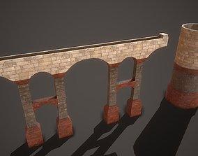 Ancient Aqueduct 3D asset