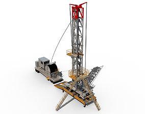 3D Mobile oil rig