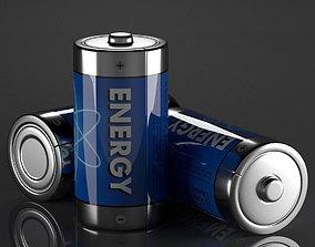 C Battery 3D model