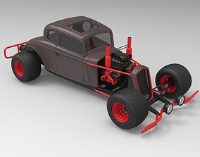 Hot rod 3D drag