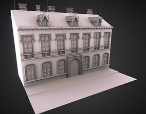 3D model Building in Prague