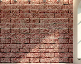 Brick wall Old brick 18 3D model