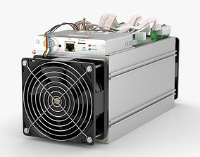 3D model Antminer Cryptocurrency Mining Hardware