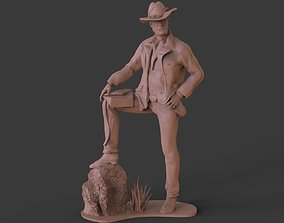 3D printable model RDR2 Arthur Morgans Sculpture